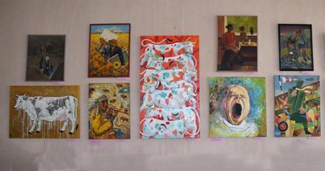 Новочеркасские художники открыли для жителей «Новые горизонты»