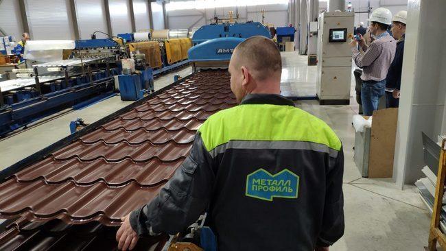 Рядом с Новочеркасском открылся завод по производству кровельных материалов
