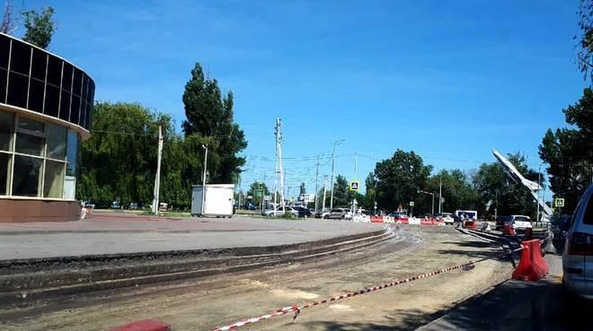 В проект реконструкции дороги на улице Гагарина забыли включить ливнёвку