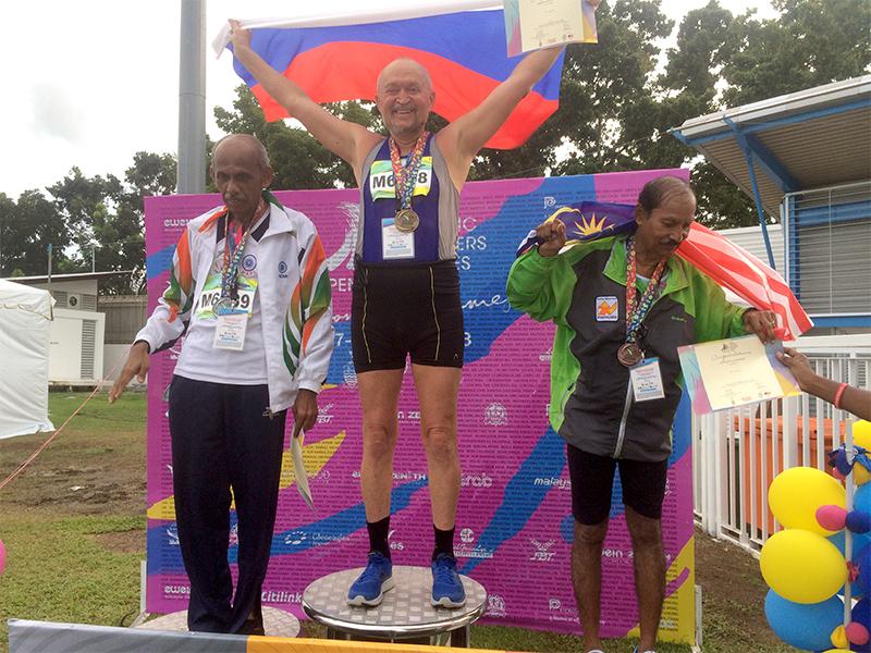 Новочеркасец стал двукратным победителем международных спортивных игр среди ветеранов