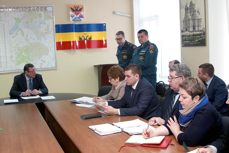 В Новочеркасске усилят контроль за соблюдением мер пожарной безопасности