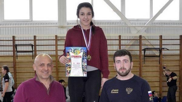 Новочеркасская студентка Элена Манукян, победила на первенстве ЮФО по вольной борьбе