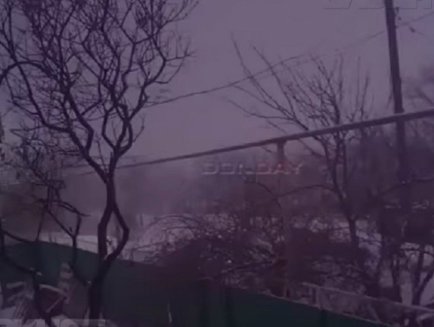 Снежная гроза разверзлась над Новочеркасском