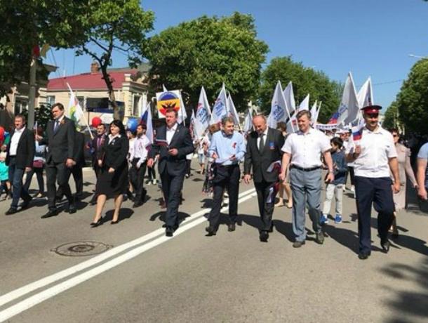 В Новочеркасске отметили Первомай