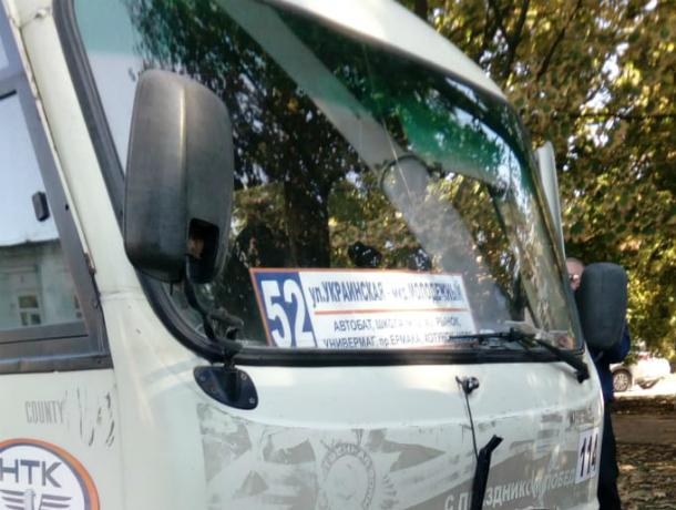 В Новочеркасске, в ДТП с маршруткой пострадали пассажиры