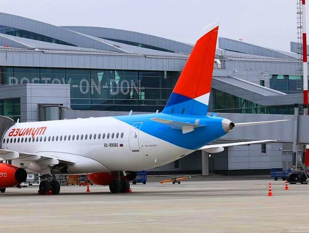 Недалеко от Новочеркасска, в аэропорту Платов умер пассажир экстренно приземлившегося самолета