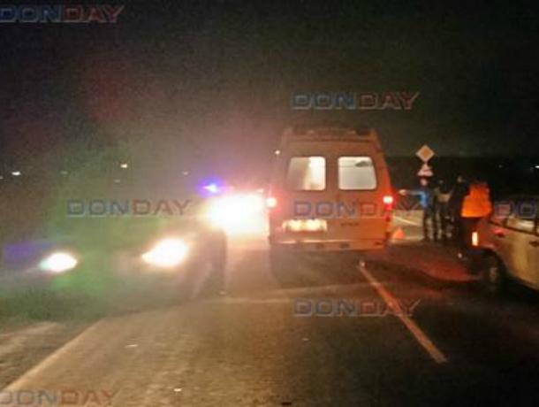 Пьяный мужчина на велосипеде решил прокатиться по трассе и угодил под колеса машины под Новочеркасском