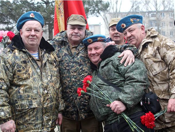 Митинг в честь 29-летней годовщины вывода войск из Афганистана прошел в Новочеркасске