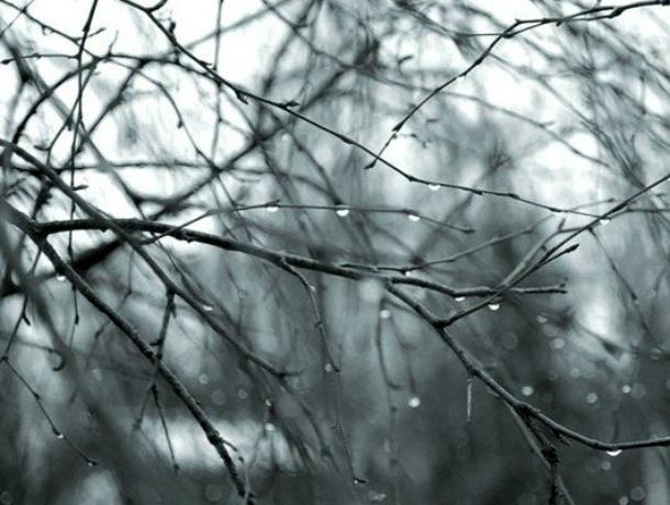 Затянутое тучами небо и дождь ожидают жителей Новочеркасска на выходных