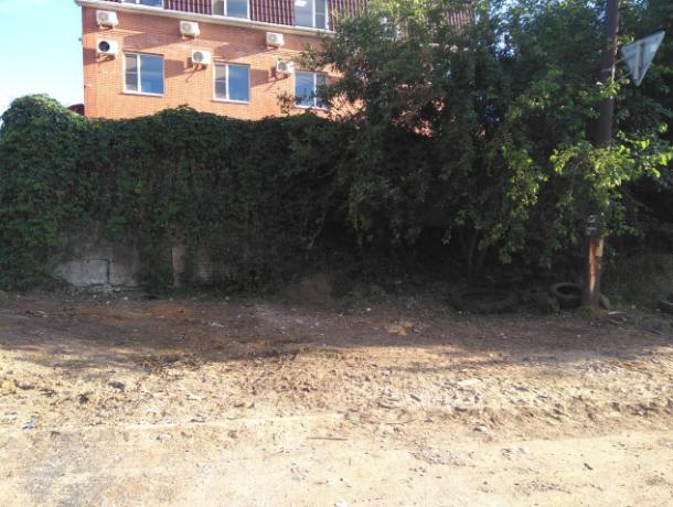 После публикации «Блокнота Новочеркасск» администрация убрала свалку в переулке Сосновом