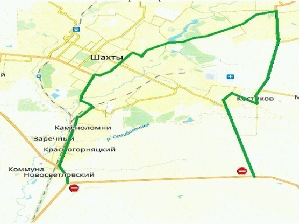 Участок автодороги под Новочеркасском перекроют для проведения соревнований по велоспорту