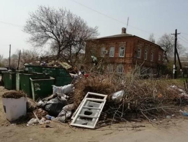 После множества публикаций в СМИ, администрация Новочеркасска начала решать «мусорный» вопрос