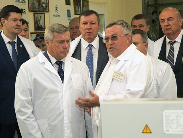 Новочеркасск посетил губернатор Ростовской области